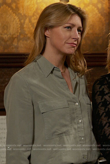 Ava's button down shirt on Legends of Tomorrow
