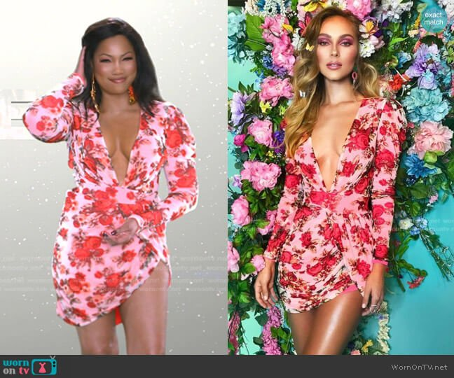 Seraphina Dress by Bao Tranchi worn by Garcelle Beauvais  on The Real Housewives of Beverly Hills