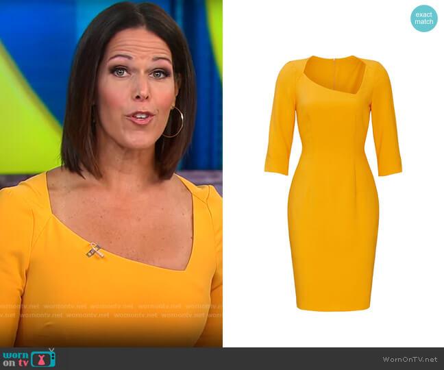 Black Halo Derek Sheath worn by Dana Jacobson  on CBS Mornings