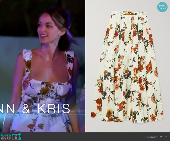 Brock Collection Sonia Skirt worn by Kaitlynn Carter  on The Hills New Beginnings