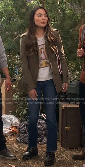 Carly's camping outfit on iCarly