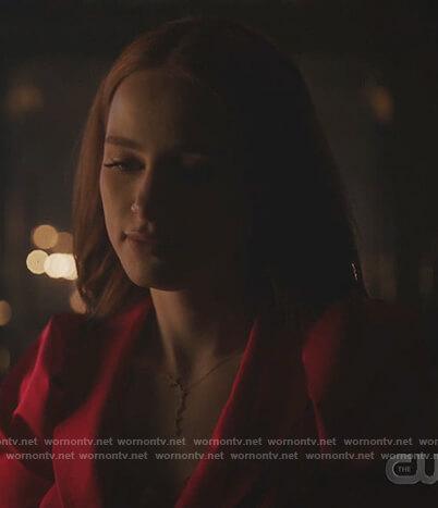Cheryl's gold star necklace on Riverdale