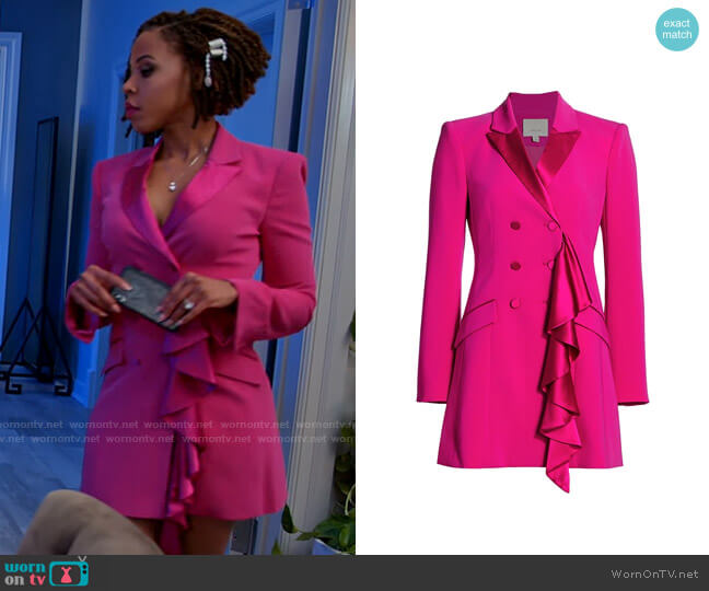Cinq a Sept Carly Dress worn by Andrea Barnes (Kj Smith) on Tyler Perrys Sistas
