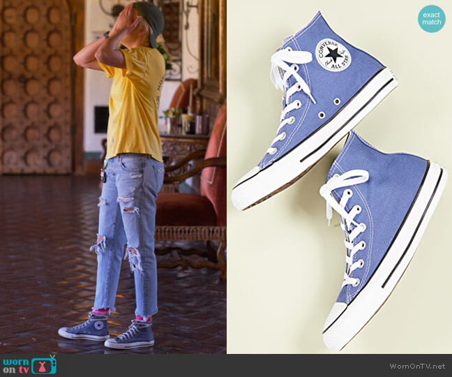 Converse Chuck Taylor All Stars High Top Sneaker worn by Sarah Finley (Jacqueline Toboni) on The L Word Generation Q