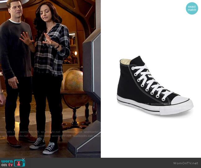 Converse Chuck Taylor® High Top Sneaker worn by Zari Tomaz (Tala Ashe) on Legends of Tomorrow