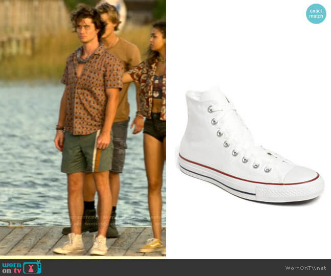 Converse Chuck Taylor® All Star® High Top Sneaker worn by John B (Chase Stokes) on Outer Banks
