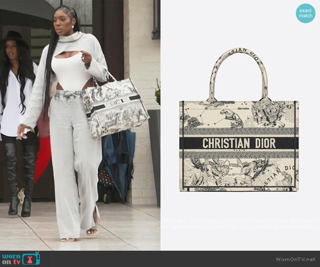 Small Dior Bag by Christian Dior worn by Wendy Osefo  on The Real Housewives of Potomac