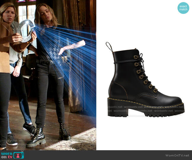 Dr Martens Leona Boots worn by Sara Lance (Caity Lotz) on Legends of Tomorrow