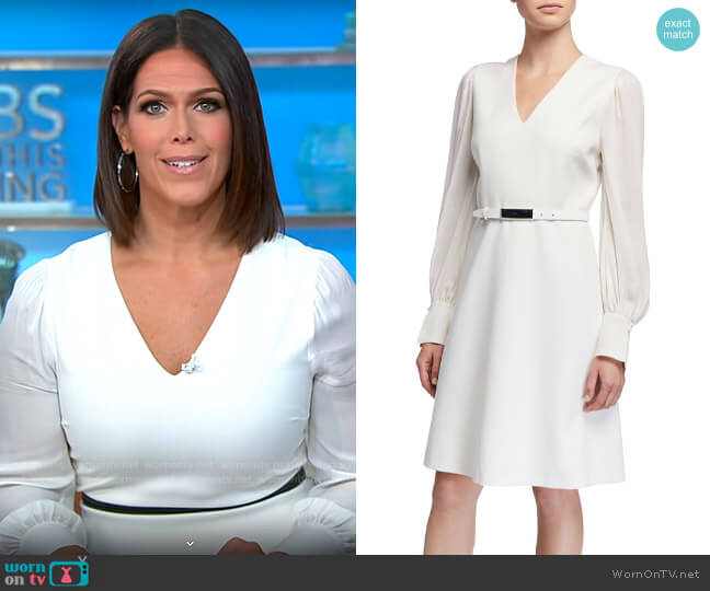 Elie Tahari Hale Dress worn by Dana Jacobson  on CBS Mornings