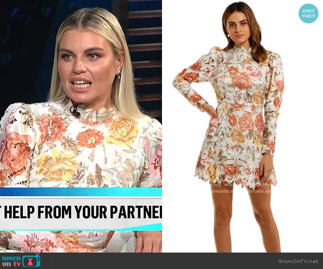 Tessa Mini Dress by Elliatt worn by Tanya Rad on E! News Daily Pop