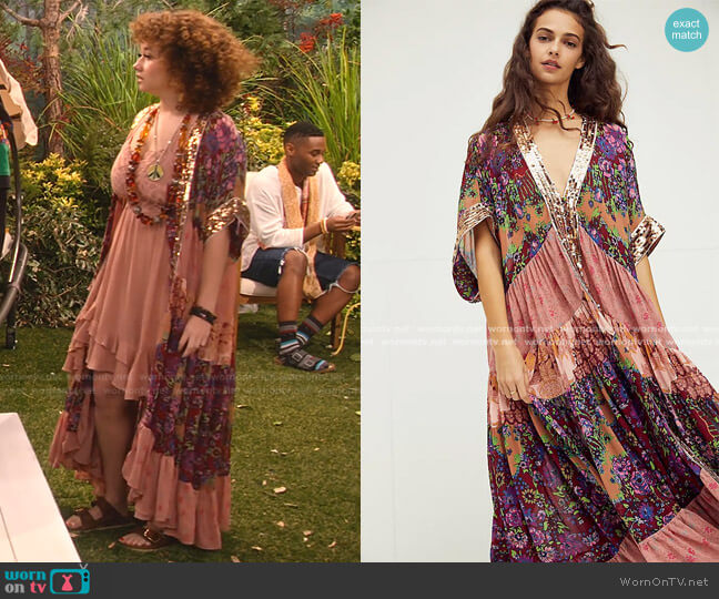 One Fine Day Maxi Top by Free People worn by Jade (Talia Jackson) on Family Reunion