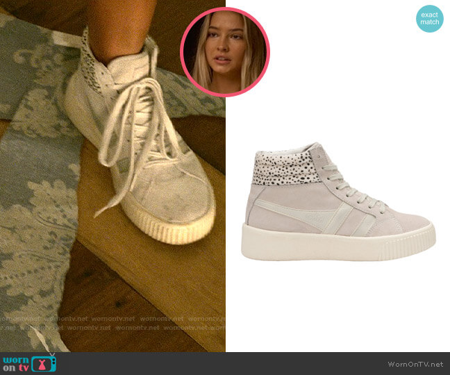 Gola Baseline Savanna Sneaker worn by Sarah Cameron (Madelyn Cline) on Outer Banks