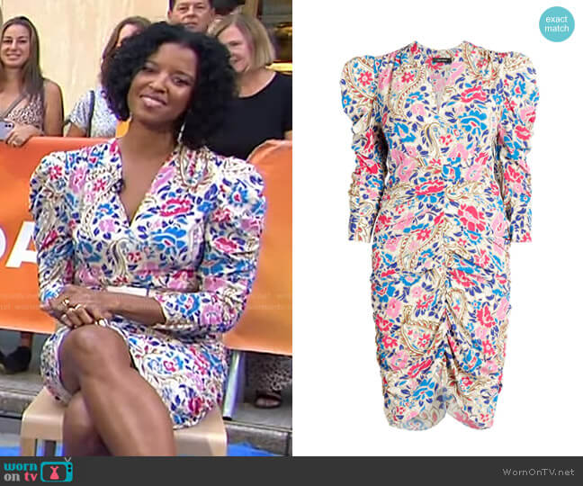 Celina Dress by Isabel Marant worn by Renee Elise Goldsberry on Today