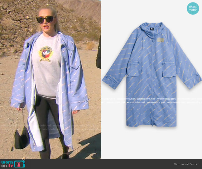 Long Jacket by Kappa Kontroll worn by Erika Jayne  on The Real Housewives of Beverly Hills