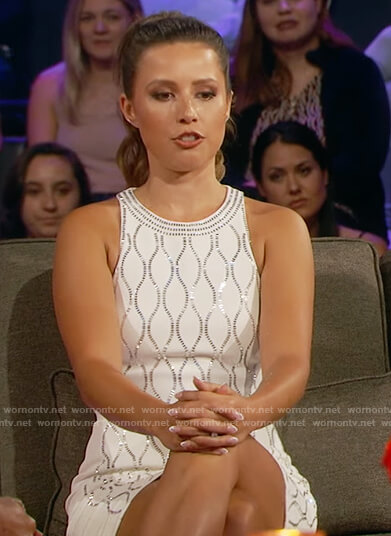 Katie's pink tank on The Bachelorette