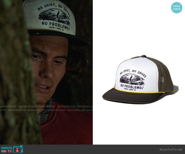 Katin No Shirt Hat worn by John B (Chase Stokes) on Outer Banks