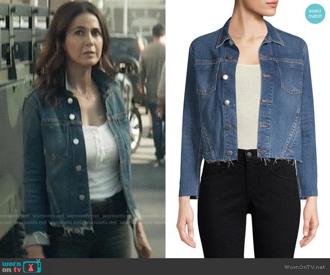 L'Agence Janelle Jacket worn by Lana Lang Cushing (Emmanuelle Chriqui) on Superman & Lois
