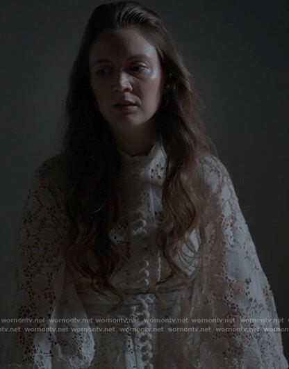 Bernadette's floral dress on American Horror Stories