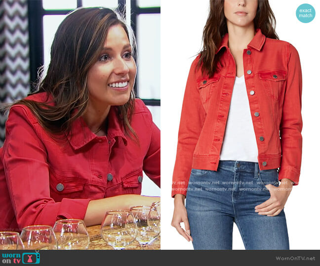 Classic Denim Jacket by Liverpool worn by Katie Thurston  on The Bachelorette