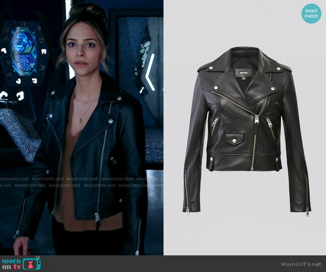 Mackage Baya Jacket worn by Zari Tomaz (Tala Ashe) on Legends of Tomorrow