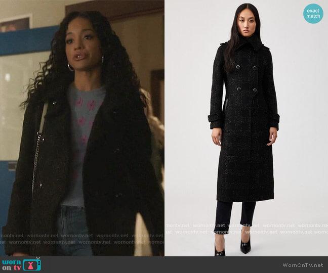 Elodie Coat by Mackage worn by Erinn Westbrook on Riverdale