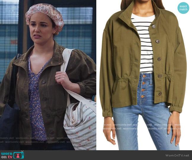 Highbury Military Jacket by Madewell worn by Amy Santiago (Melissa Fumero) on Brooklyn Nine-Nine