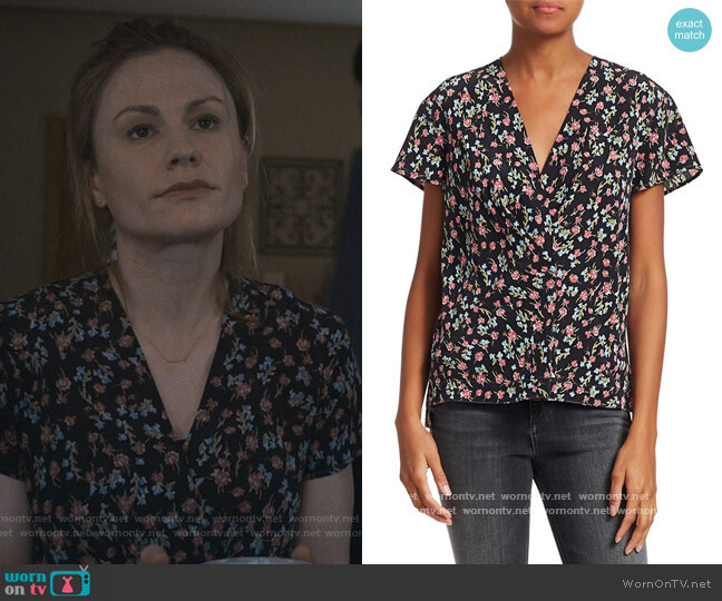 Shields Short-Sleeve Top by Rag & Bone worn by Anna Paquin on Modern Love