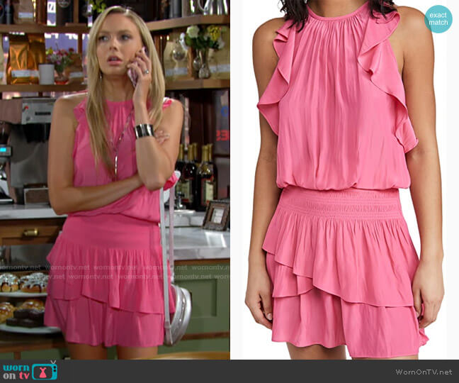 Ramy Brook Rooney Dress worn by Abby Newman (Melissa Ordway) on The Young & the Restless