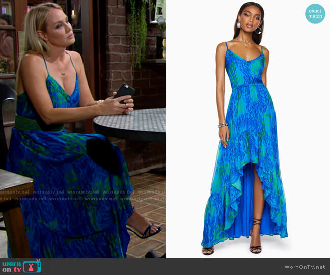 Ramy Brook Trudy Dress worn by Sharon Collins (Sharon Case) on The Young & the Restless
