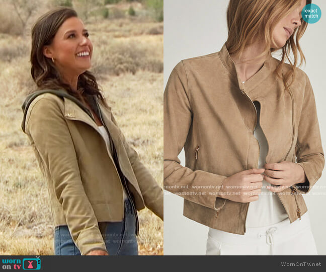 Madeline Jacket by Reiss worn by Katie Thurston  on The Bachelorette