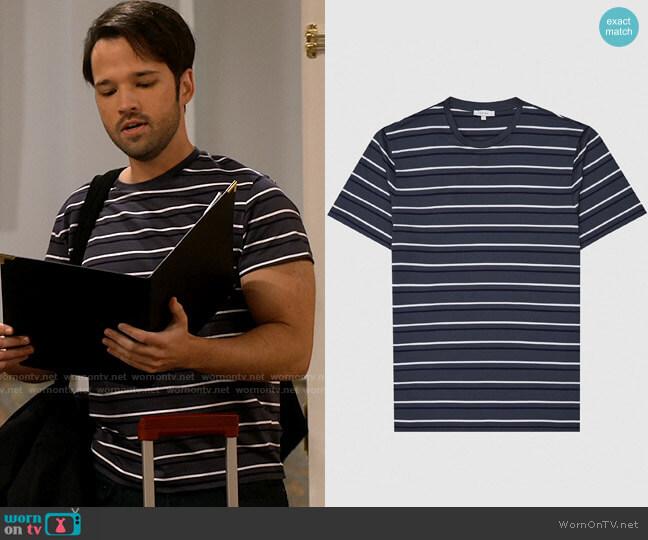 Reiss Chesam T-shirt worn by Freddie Benson (Nathan Kress) on iCarly