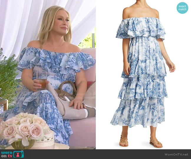 Ash Dress by Rhode worn by Kathy Hilton  on The Real Housewives of Beverly Hills