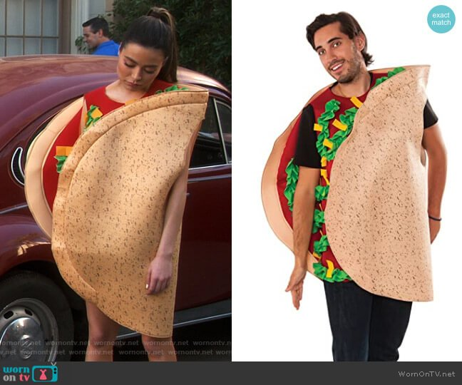 Rubies Costumes Taco Costume worn by Carly Shay (Miranda Cosgrove) on iCarly