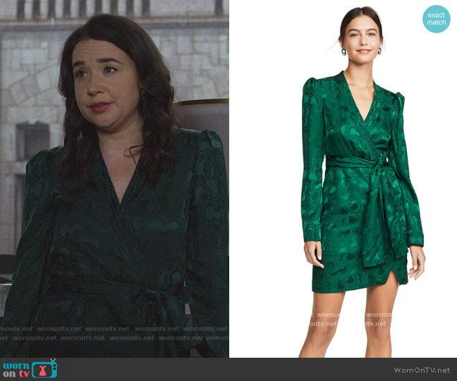 Bibi Dress by Saloni worn by Marissa Gold (Sarah Steele) on The Good Fight