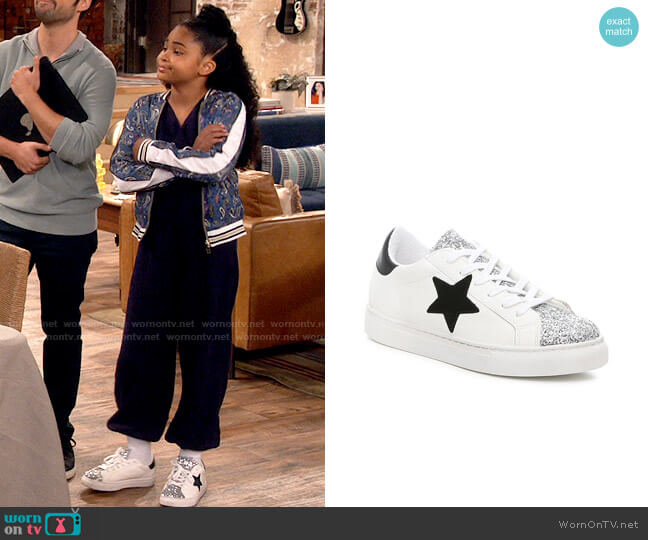 Steve Madden Tamber Sneakers worn by Millicent (Jaidyn Triplett) on iCarly