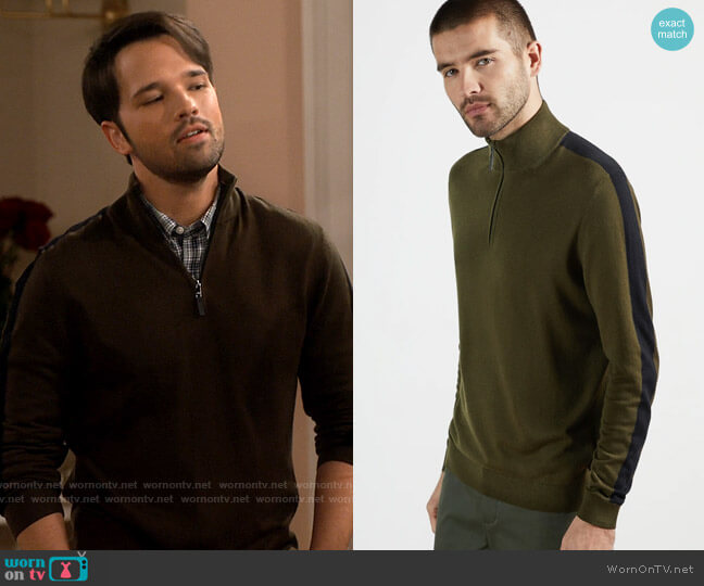 Ted Baker Ofica Sweater worn by Freddie Benson (Nathan Kress) on iCarly