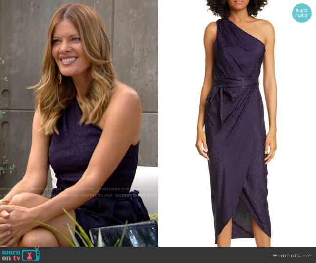 Ted Baker Zoeii Dress worn by Phyllis Summers (Michelle Stafford) on The Young & the Restless