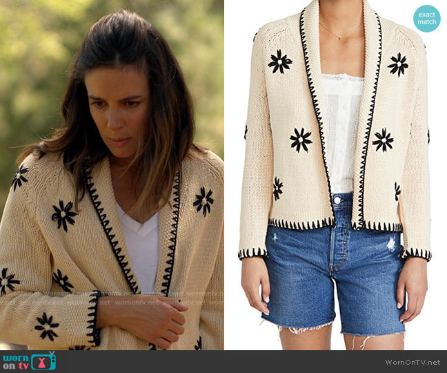 The Great The Daisy Lodge Cardigan worn by Addy Gant (Tiffany Dupont) on American Horror Stories