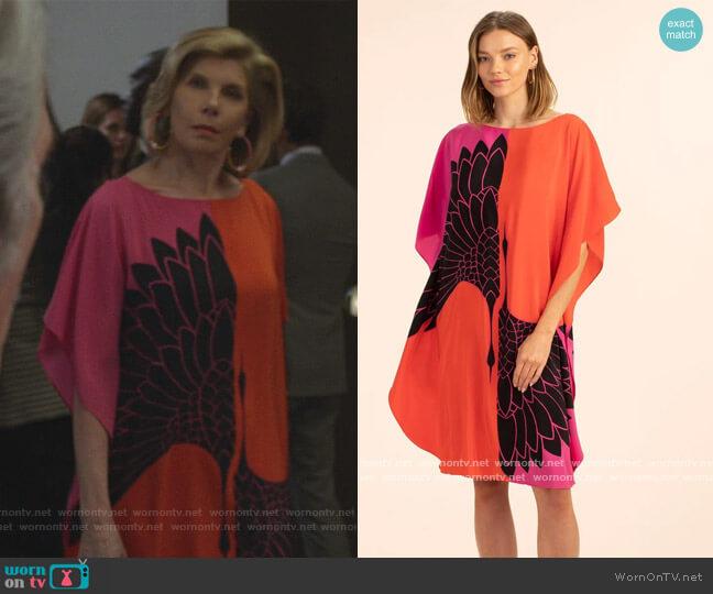 Global Dress by Trina Turk worn by Diane Lockhart (Christine Baranski) on The Good Fight