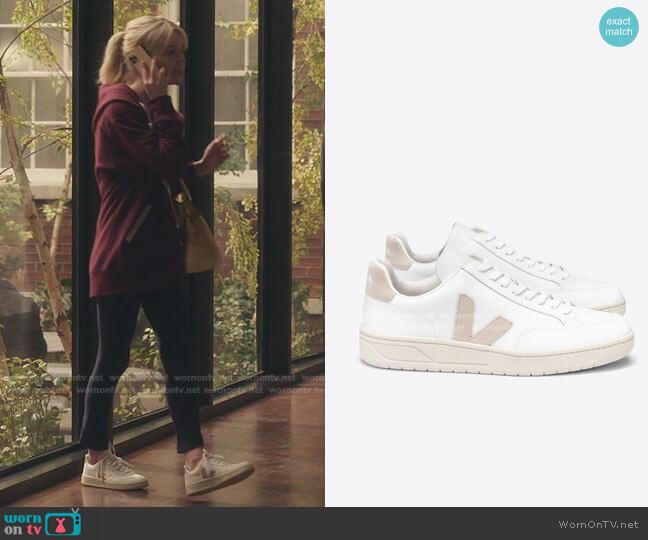 V-12 Sneakers by Veja worn by Audrey Hope (Emily Alyn Lind) on Gossip Girl