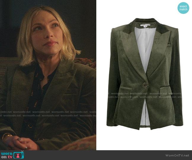 Lia Dickey Jacket by Veronica Beard worn by Kate Keller (Tavi Gevinson) on Gossip Girl