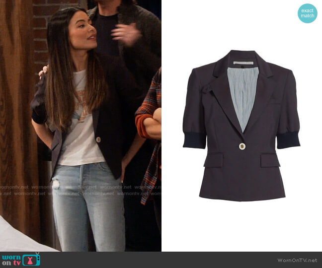 Veronica Beard Margereth Jacket worn by Carly Shay (Miranda Cosgrove) on iCarly