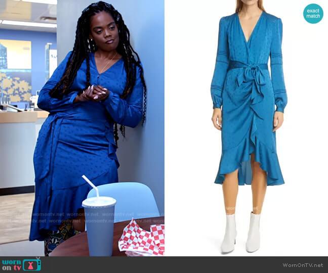 Veronica Beard Miriam Dress worn by Sabrina Hollins (Novi Brown) on Tyler Perrys Sistas