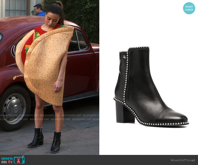 Zaidg & Voltaire Lena Boots worn by Carly Shay (Miranda Cosgrove) on iCarly