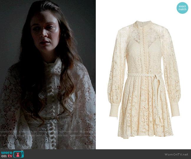 Zimmermann Cassie Dress worn by Liv Whitley (Billie Lourd) on American Horror Stories