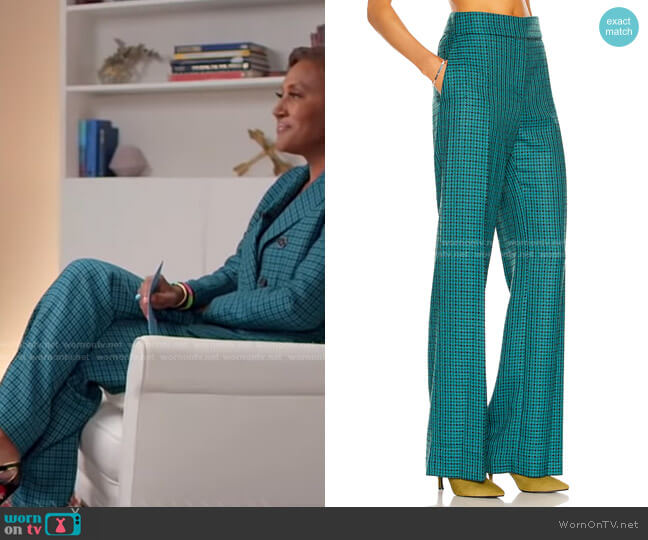 Tailored Pant by Alexandre Vauthier worn by Robin Roberts  on Good Morning America
