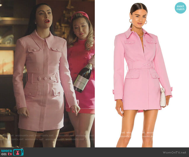 X Revolve Little Journey Blazer Dress by Alice McCall worn by Veronica Lodge (Camila Mendes) on Riverdale