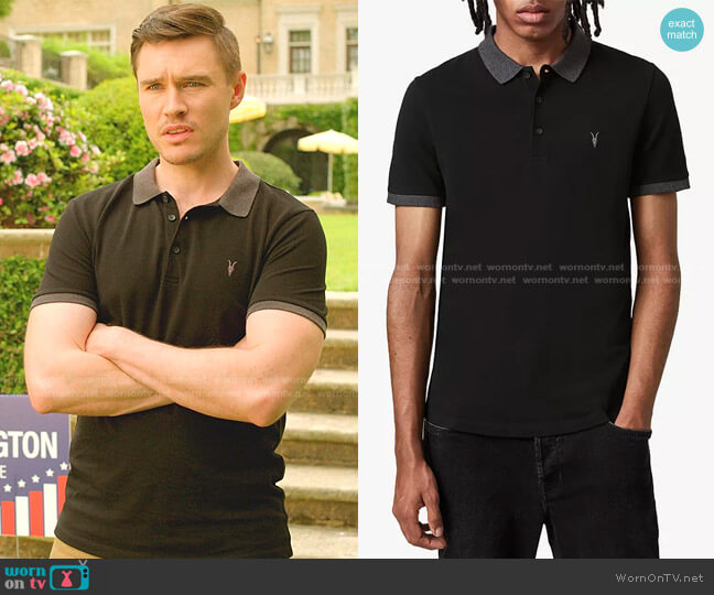 Orlando Regular Fit Polo Shirt by All Saints