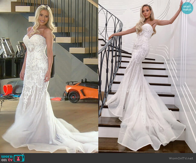 The Actress by Dorit x Nektaria worn by Dorit Kemsley  on The Real Housewives of Beverly Hills