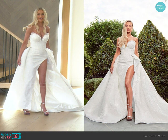 The Moment by Dorit x Nektaria worn by Dorit Kemsley  on The Real Housewives of Beverly Hills